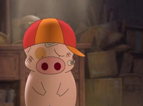 在动画的背景下,麦兜就是一个令人怜惜的小草根奋斗
